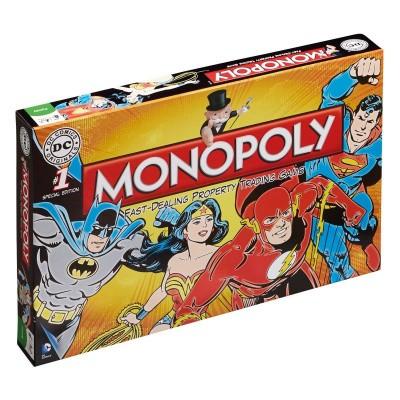 Foto van Monopoly DC Comics Original BORDSPELLEN