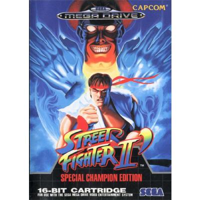 Foto van Street Fighter II SEGA MEGADRIVE