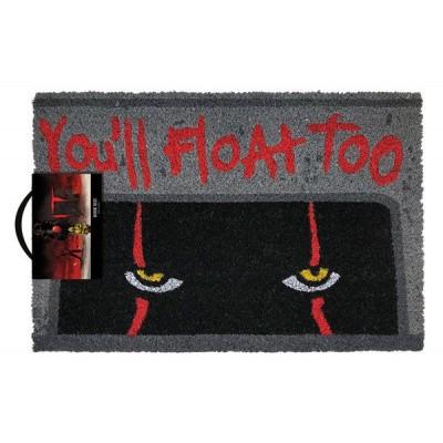 Foto van IT: Pennywise - You'll Float Too Doormat MERCHANDISE