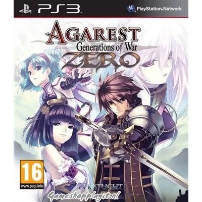 Agarest Zero Generations Of War PS3