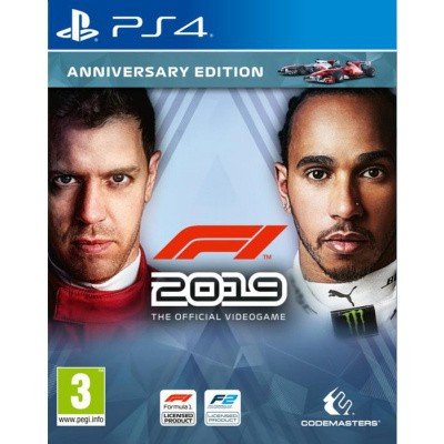 Foto van F1 2019 Anniversary Edition PS4