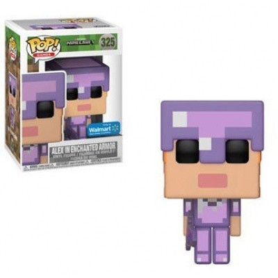 Foto van Pop! Games: Minecraft - Alex With Enchanted Armor Le FUNKO