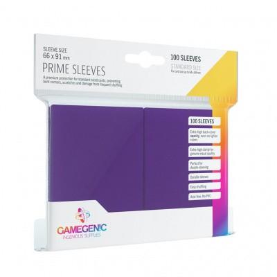 TCG Prime Sleeves 66 x 91 mm - Purple (Standard Size/100 Stuks) SLEEVES