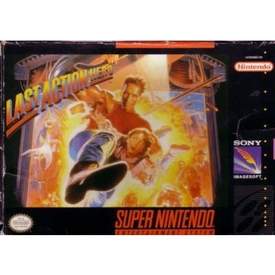 Foto van Last Action Hero (Losse Game) SNES