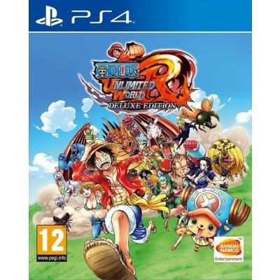 Foto van One Piece: Unlimited World Red Deluxe Edition PS4