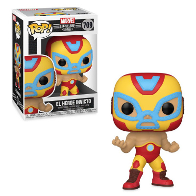 Pop! Marvel: Lucha Libre Edition - El Héroe Invicto FUNKO