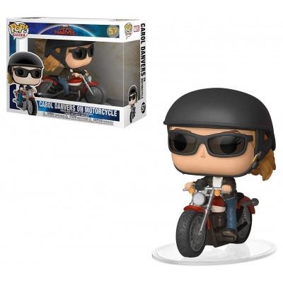 Foto van Pop! Ride: Marvel Captain Marvel - Carol Danvers On Motorcycle FUNKO