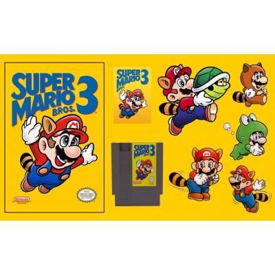Foto van Super Mario Bros. 3 NES