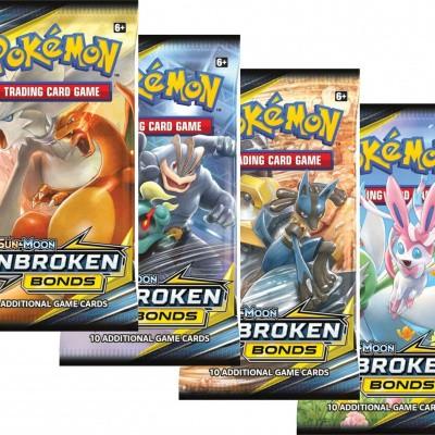 Foto van TCG Booster Pack Pokemon Sun & Moon Unbroken Bonds POKEMON