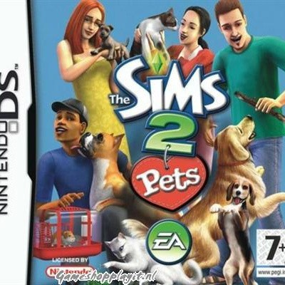 Foto van Sims 2 Pets NDS LOSSE GAME