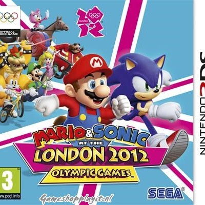 Foto van Mario & Sonic At The London 2012 Olympic Games 3DS