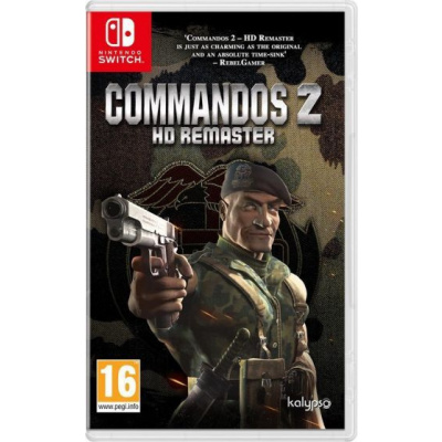 Foto van Commandos 2 HD Remaster SWITCH