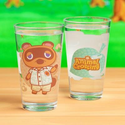 Foto van Animal Crossing - Tom Nook Glass MERCHANDISE