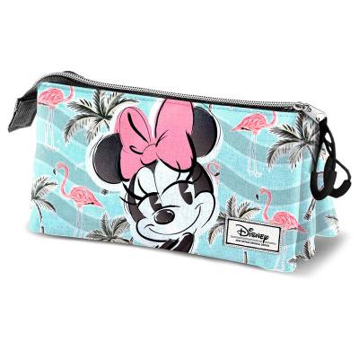 Disney Minnie Tropic Triple Pencil Case MERCHANDISE