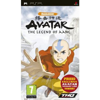Avatar De Legende Van Aang PSP