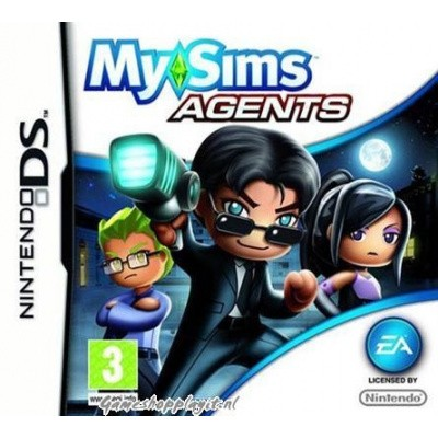 My Sims Agents NDS