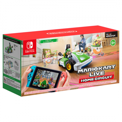 Foto van Mario Kart Live: Home Circuit - Luigi SWITCH