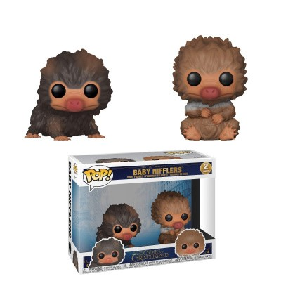 Foto van Pop! Movie: Fantastic Beasts 2 - Baby Nifflers 2-Pack FUNKO