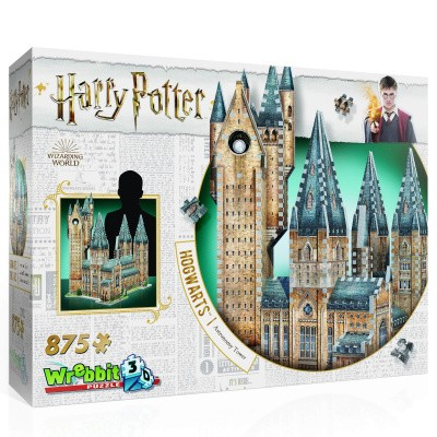 Wrebbit: Harry Potter - Astronomy Tower 3D Puzzle