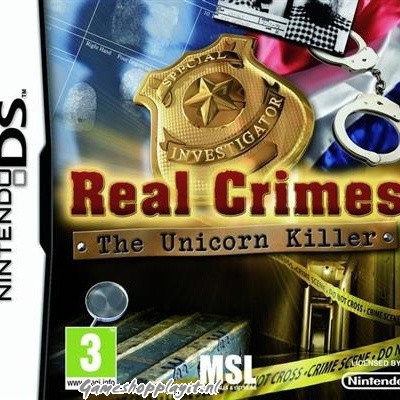 Foto van Real Crimes The Unicorn Killer NDS