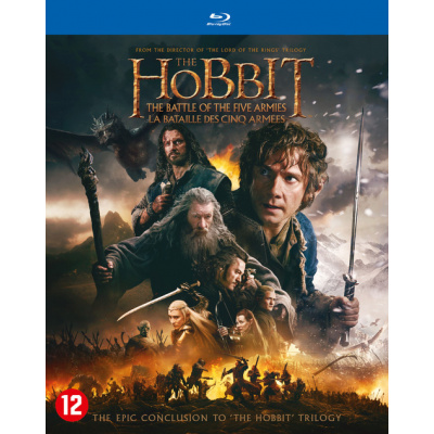 Foto van The Hobbit The Battle of the Five Armies BLU-RAY