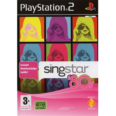 Singstar, 80'S Incl. Nl Tophits PS2
