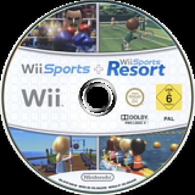 Foto van Wii Sports + Wii Sports Resort (Losse Disc) WII
