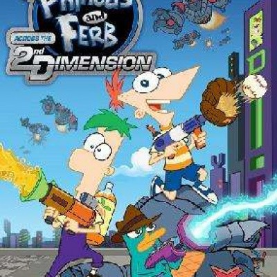 Foto van Phineas And Ferb Across The 2Nd Dimension WII