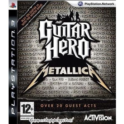 Foto van Guitar Hero Metallica PS3