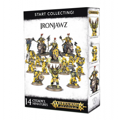 Start Collecting! Ironjawz WARHAMMER AOS