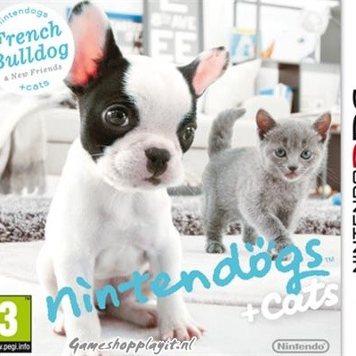 Foto van Nintendogs + Cats French Bulldog 3DS