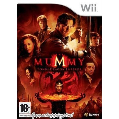 The Mummy Tomb Of The Dragon Emperor WII