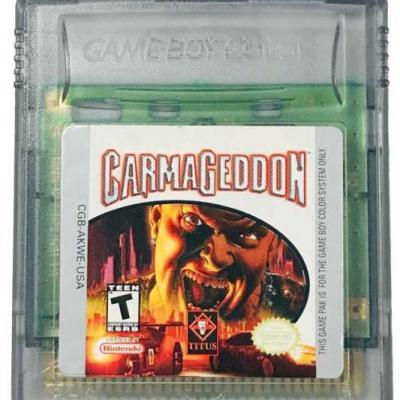 Foto van Carmageddon GBC LOSSE GAME