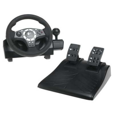 Foto van Logitech Driving Force Pro PS2