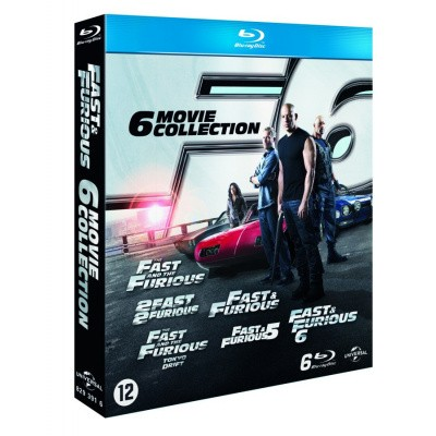 Fast & Furious 1 T/M 6 Movie Collection (6 BD) BLU-RAY