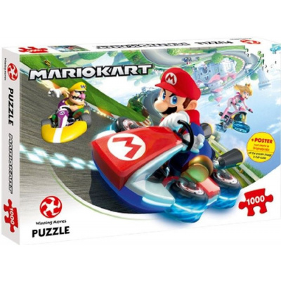 Mario Kart Funracer 1000pc PUZZEL