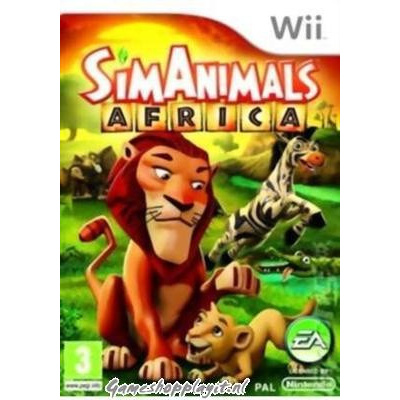 Simanimals Afrika WII