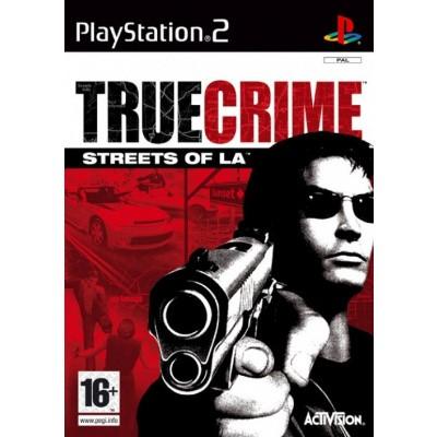 True Crime Streets Of L.A. PS2