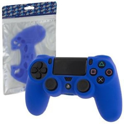 Foto van Pro Soft Silicone Protective Cover (Blue) PS4