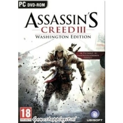 Assassin's Creed 3 Washington Edition PC
