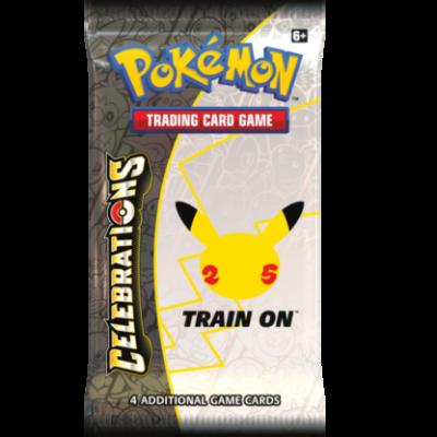 Foto van TCG Pokémon Celebrations Booster Pack POKEMON