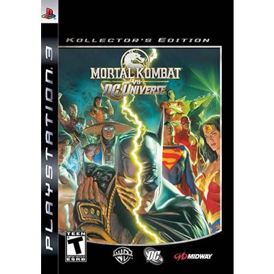 Foto van Mortal Kombat Vs DC Universe Kollectors Edition (US Version) PS3