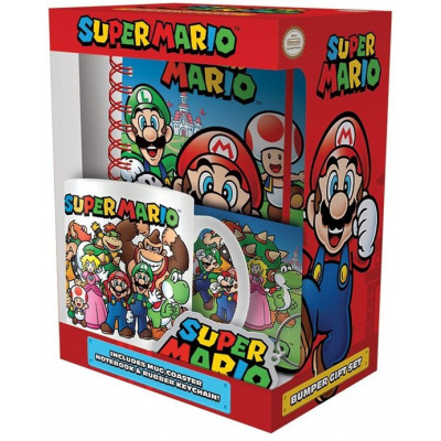 Super Mario - Bumber Gift Set MERCHANDISE