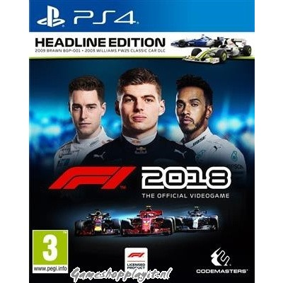Foto van F1 2018 Headline Edition PS4