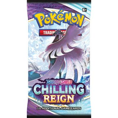 Foto van TCG Pokémon Sword & Shield Chilling Reign Booster Pack POKEMON
