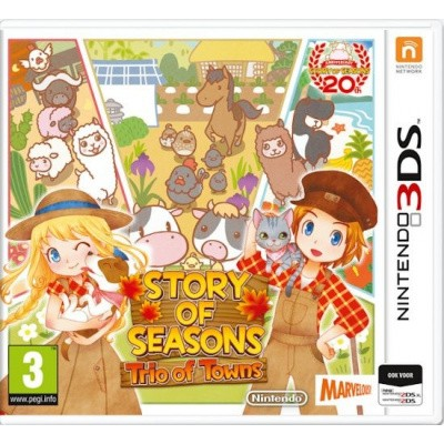 Foto van Story Of Seasons Trio Of Towns 3DS