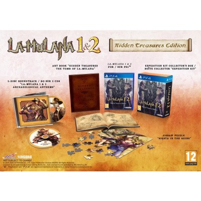 Foto van La-Mulana 1 & 2 - Hidden Treasures Edition PS4