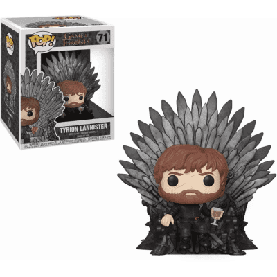 Foto van Pop! Deluxe: Game of Thrones - Tyrion Sitting on Iron Throne FUNKO