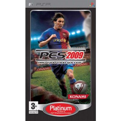 Foto van Pro Evolution Soccer 2009 (Pes 2009) (Platinum) PSP