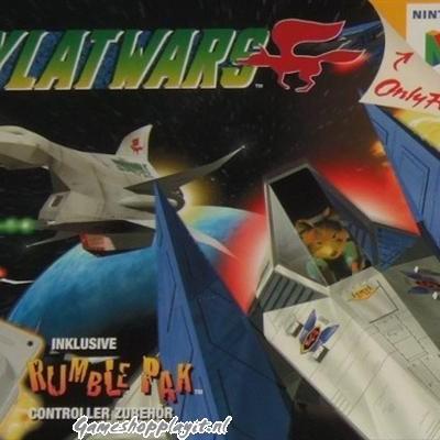 Foto van Lylat Wars (Losse Cassette) N64